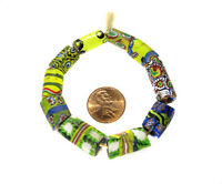 10PCS  Fine old Venetian Antique Millefiori African Glass Trade beads