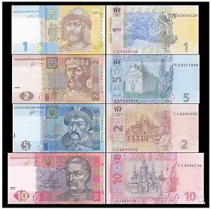 Ukraine-Set-1-2-5-10-Hryvna-UNC-4-1-2-5-10