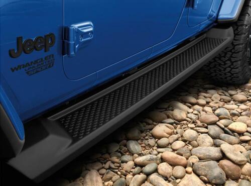 Jeep Wrangler JL Unlimited 4DR Running Boards Side Steps Nerf Bars For 2018
