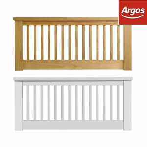 best loved 678c5 6721c Details about Argos Home Aubrey Headboard - Choice of Oak / White & Single  / Double / King
