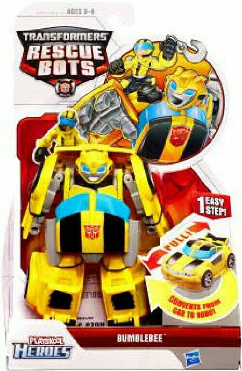 Transformers Rescue Bots Playskool Heroes Bumblebee Action Figure