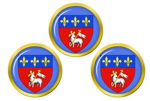 Rouen-France-Marqueurs-de-Balles-de-Golf