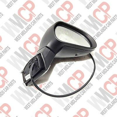PEUGEOT 207 2006-2013 ELECTRIC HEATED PRIMED DOOR WING MIRROR DRIVER SIDE RIGHT