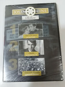 JOYAS-DEL-CINE-BELICO-DVD-16-ADIOS-A-LAS-ARMAS-ACORAZADO-POTEMKIN-SITIADOS-NUEVA