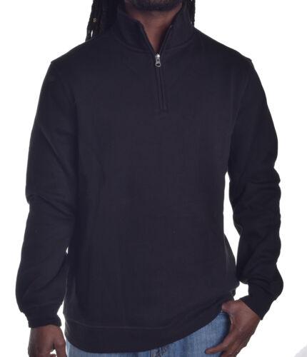 John Ashford Mens $50 1//4 Zip Up Fleece Sweatshirt Choose Size /& Color
