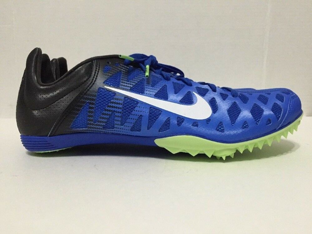 Nike Zoom Maxcat 4 Sprint Spikes Track Field bluee 549150-413 Mens Size 11