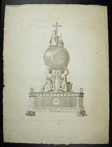 Qualifié Translatio Sanctae Coronae Spinae Porjet D'horloge ? 1806 La Couronne D'épine
