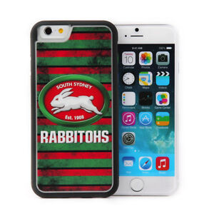 cheap for discount 0c0fb 39c16 Details about Licensed NRL South Sydney Rabbitohs Back Case Cover iPhone 6  Plus Grunge