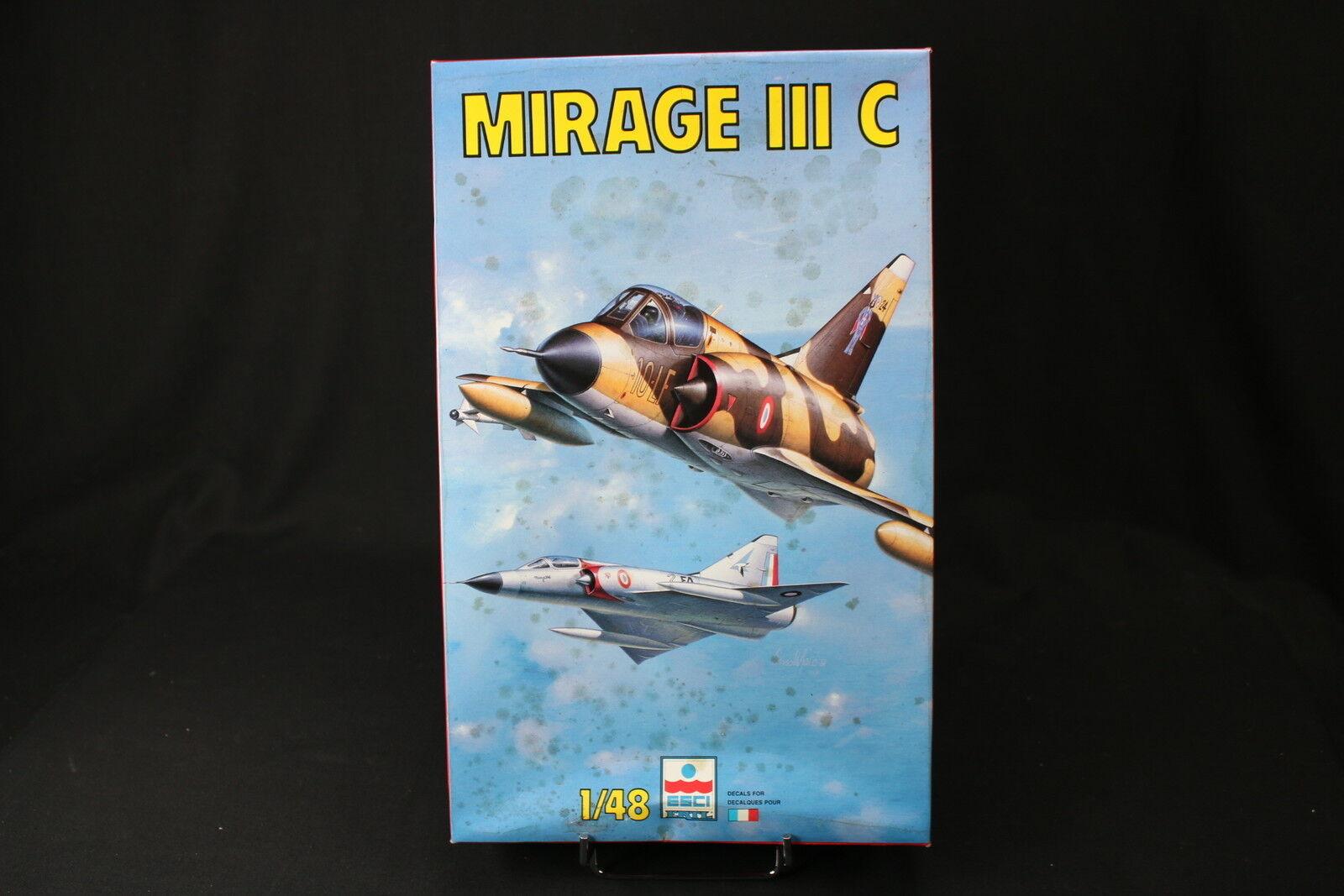 YA023 ESCI 1 48 maquette maquette maquette avion 4087 Mirage III C 3a706c