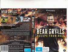 Bear Grylls:Escape From Hell-2013-Discovery Channel-2 Disc-DVD