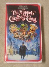 THE MUPPET CHRISTMAS CAROL Vhs Video Movie 1993 Disney Michael Caine Jim Henson
