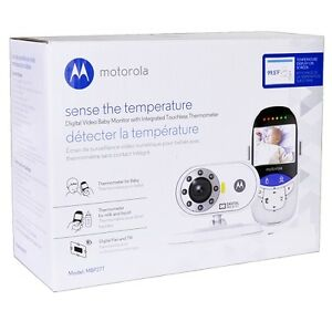 motorola mbp27t wireless video baby monitor thermometer night vision camera. Black Bedroom Furniture Sets. Home Design Ideas