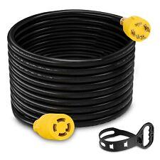 25ft Heavy Duty Generator Adapter L14 30p L14 30r Generator Lock Extension Cord