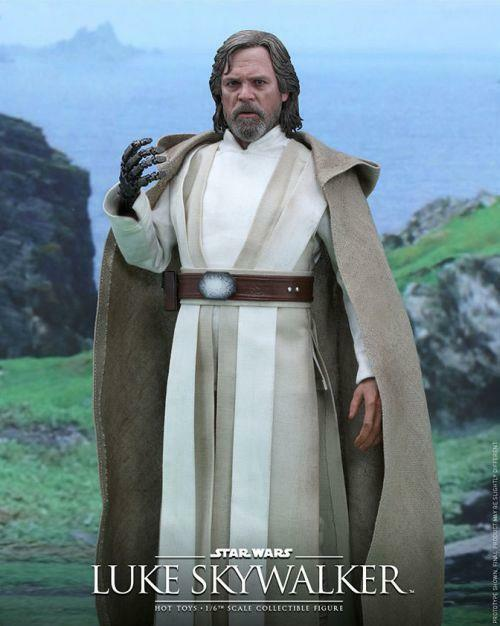 Star wars force weckt luke skywalker.