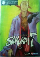 Akira Kurosawa's Samurai 7 Volume 7 The Final 3 Episodes+extras Gonzo Dvd Sealed
