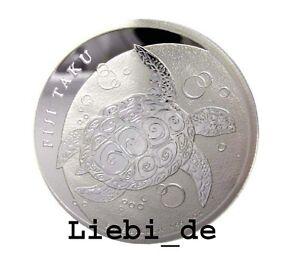 1-Silber-Fidschi-Fiji-Fidji-Taku-Karettschildkroete-Turtle-1-2-OZ-2013