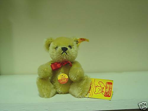 Steiff- 15cm Original Teddy Blond Mohair EAN  0210/15