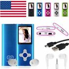 8GB 16GB Digital MP3 MP4 Player 1.8