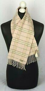 BURBERRY-echarpe-90-laine-10-cachemire-en-couleur-rose-made-in-Scotland-75