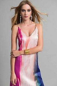 Edas-abito-vestito-lungo-Roit-da-cerimonia-evening-dress-damigella-rosa-spalline