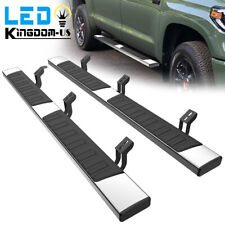 For 2007 2021 Toyota Tundra Crew Max 6 Running Boards Nerf Bar Side Steps Ss H