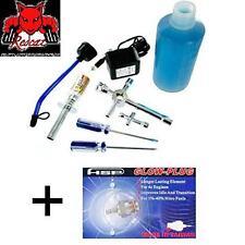 Redcat Racing  80142A Nitro R/C Starter Kit and 70117m Medium Glow Plug Combo