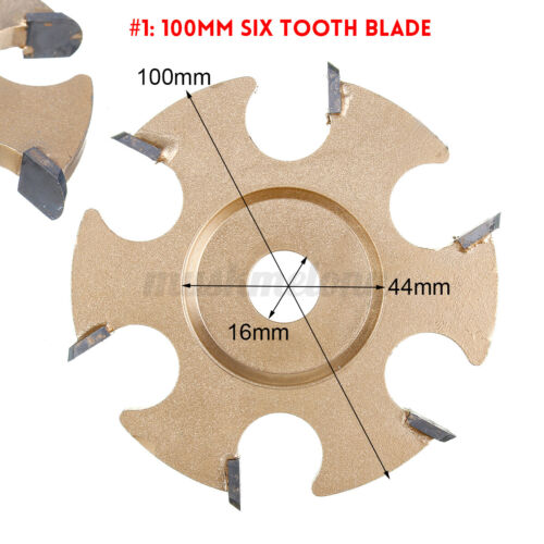 Wood Carving Cutter Disc Blade Teeth Power For 16mm Angle Grinder Milling  j
