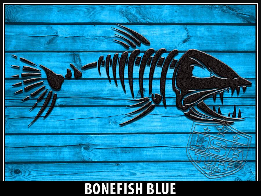 USATuff Custom Cooler Decal Wrap fits YETI Tundra 45qt FULL FULL FULL Bonefish Blau WD 1f022b