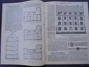 Periodika & Kataloge 1915 Baugewerkszeitung 91 Barmen Emilstraße Extrem Effizient In Der WäRmeerhaltung
