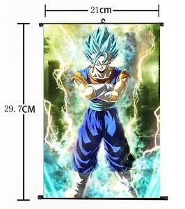 """Hot Japan Anime Dragon Ball Z Goku Home Decor Poster Wall Scroll 8/""""x12/"""" P102"""