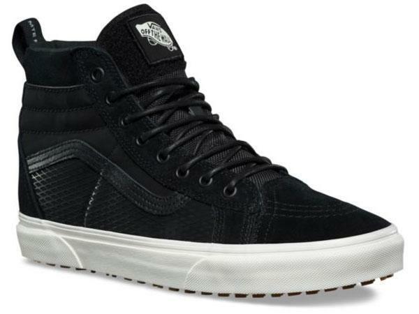 VANS Sk8 Hi 46 MTE DX Tact Black Men's 12 Skate Shoes All Weather