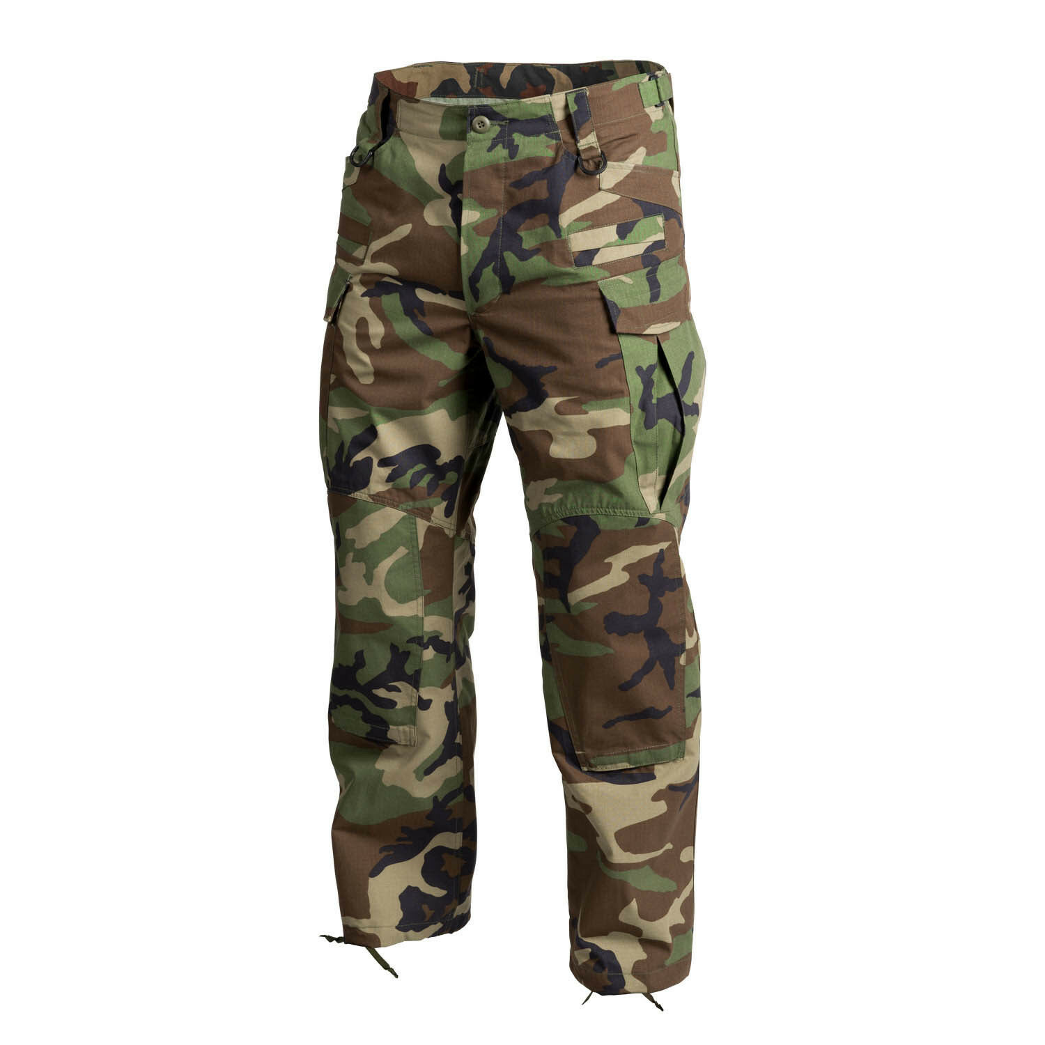 HELIKON TEX SFUNEXT Combat Outdoor Hose Army woodland camouflage Medium Regular  | Schnelle Lieferung