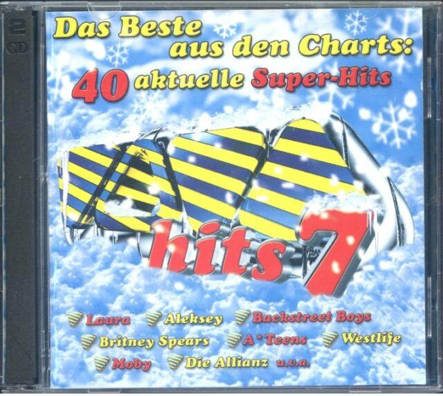 2CD Box Das Beste aus den Charts - 40 aktuelle Super Hits 7 - Songs ...