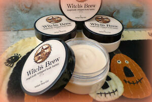 Witch-039-s-Brew-PATCHOULI-body-butter-whipped-shea-Wicca-Halloween-gift