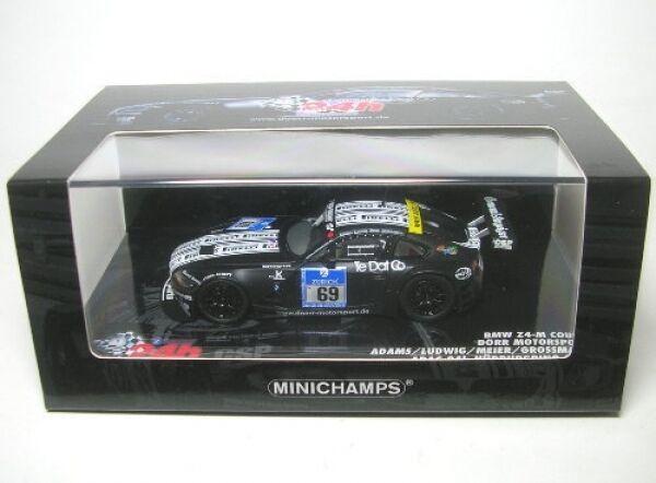 Bmw z4 M Coupé nº 69 ADAC 24h nurburgring 2009