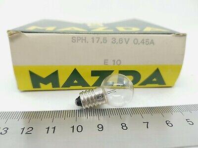 1 X BOMBILLA DIAL RADIO BOMBILLITA BULB NEON 230V E10 1 PC RCA30//1