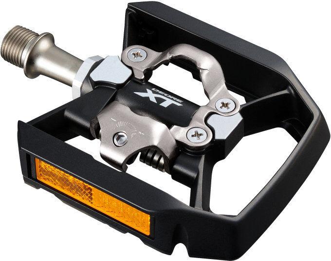 Shimano pdt8000 biciclettaPEDALI Deore XT incl. cleats, auslöshärte regolabile