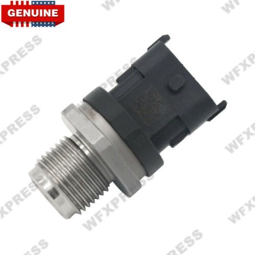 GENUINE 6.7L Fuel Rail Pressure Sensor For Dodge Cummins 2007.5-2012 5297640 OEM