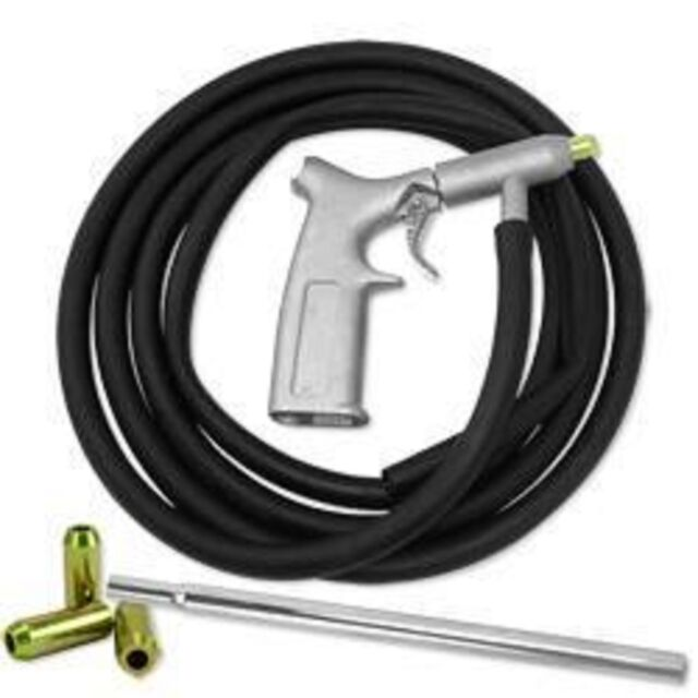 Air Sandblasting Sand Blasting Gun Tool Kit With Hose and Pick Up Tool
