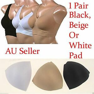 3-PAIR-BRA-PAD-INSERT-Bra-Seamless-Swimwear-Leisure-Sport-Bras-Breast-Enhancer