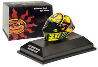 Minichamps Valentino Rossi Agv Helmet Motogp 2015 - 1/8 Scale