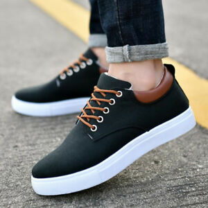 Mens Casual Leisure Boys Lace Up Shoes Driving Boat Shoes Fashion Uk