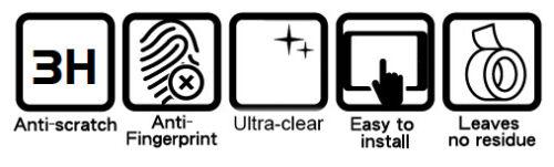 Dashboard Screen Protectors 2 x YAMAHA FZ1 Fazer 2006 Ultra Clear