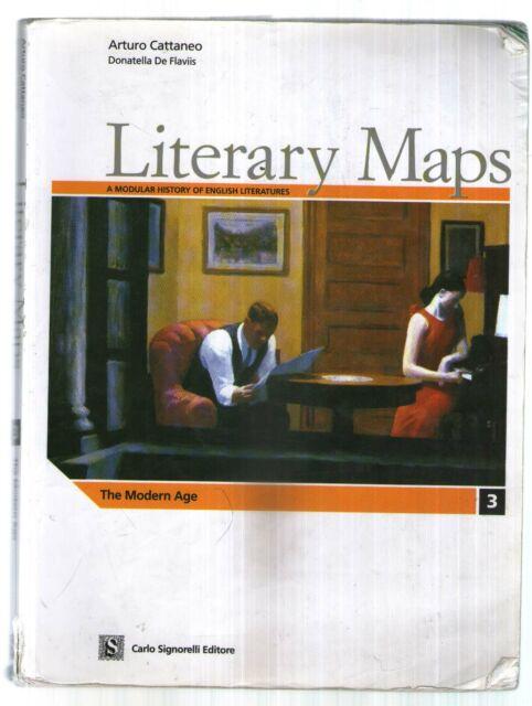 Literary maps. Letteratura inglese. Per il triennio delle Sc  Accettabile -896