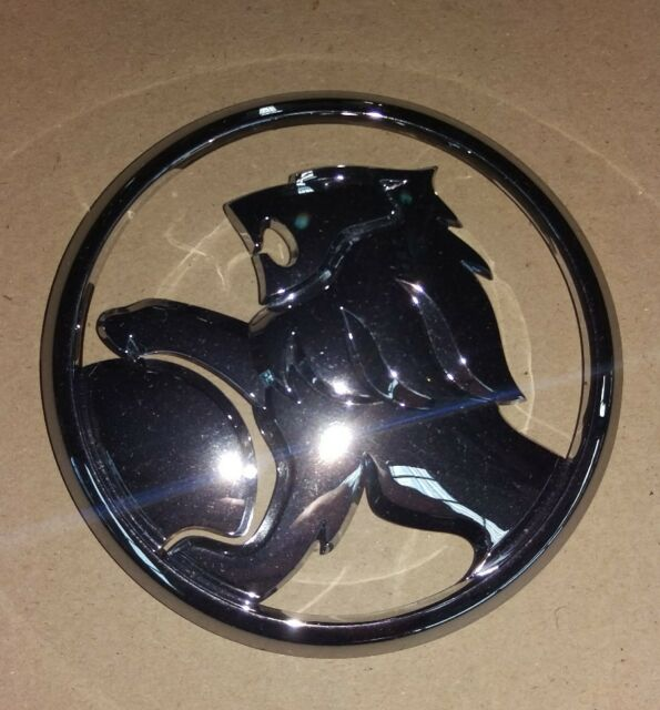 Genuine Holden New Grille Lion Badge Chrome Suits VE/ VF Commodore ss ssv calais
