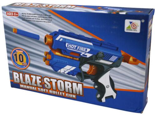 Combat Esercito Ragazzi Toy Blaze STORM DELTA PISTOLA MACCHINA PISTOLA Play 10 x freccette soft