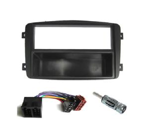 Einbau Rahmen HUMMER H1//H2; Auto Radio Blende 2-DIN bzw Doppel-DIN