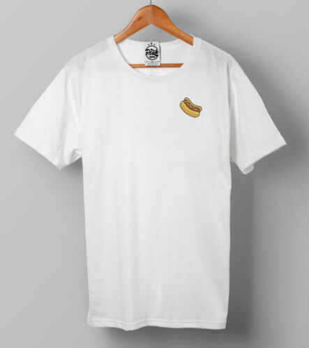 Hotdog T-shirt-vintage-Poche à imprimé-Junk Food-Peak Clothing