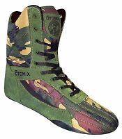 Otomix Pro Tko Super Hi Pro Boxer Men's Boxing Shoes (camo)
