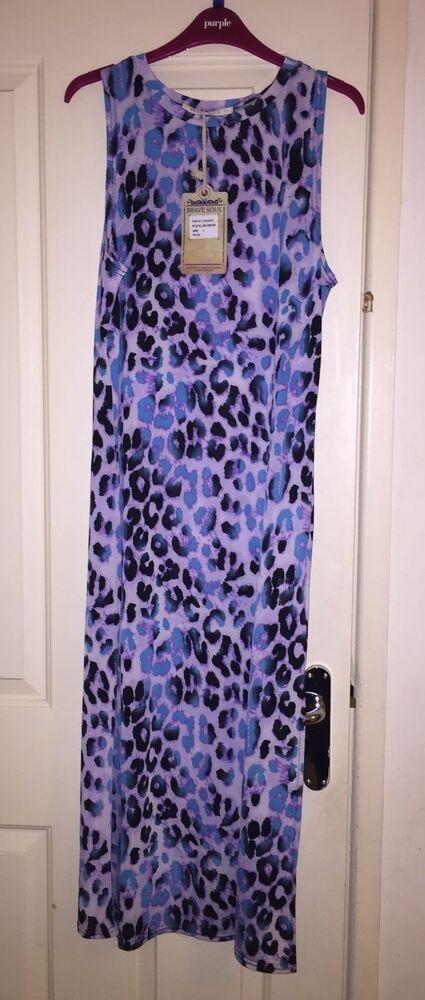 Le Prix Le Moins Cher Bnwt Brave Soul Funky Purple Robe Longue-taille 8-10 - Fab! MatéRiau SéLectionné